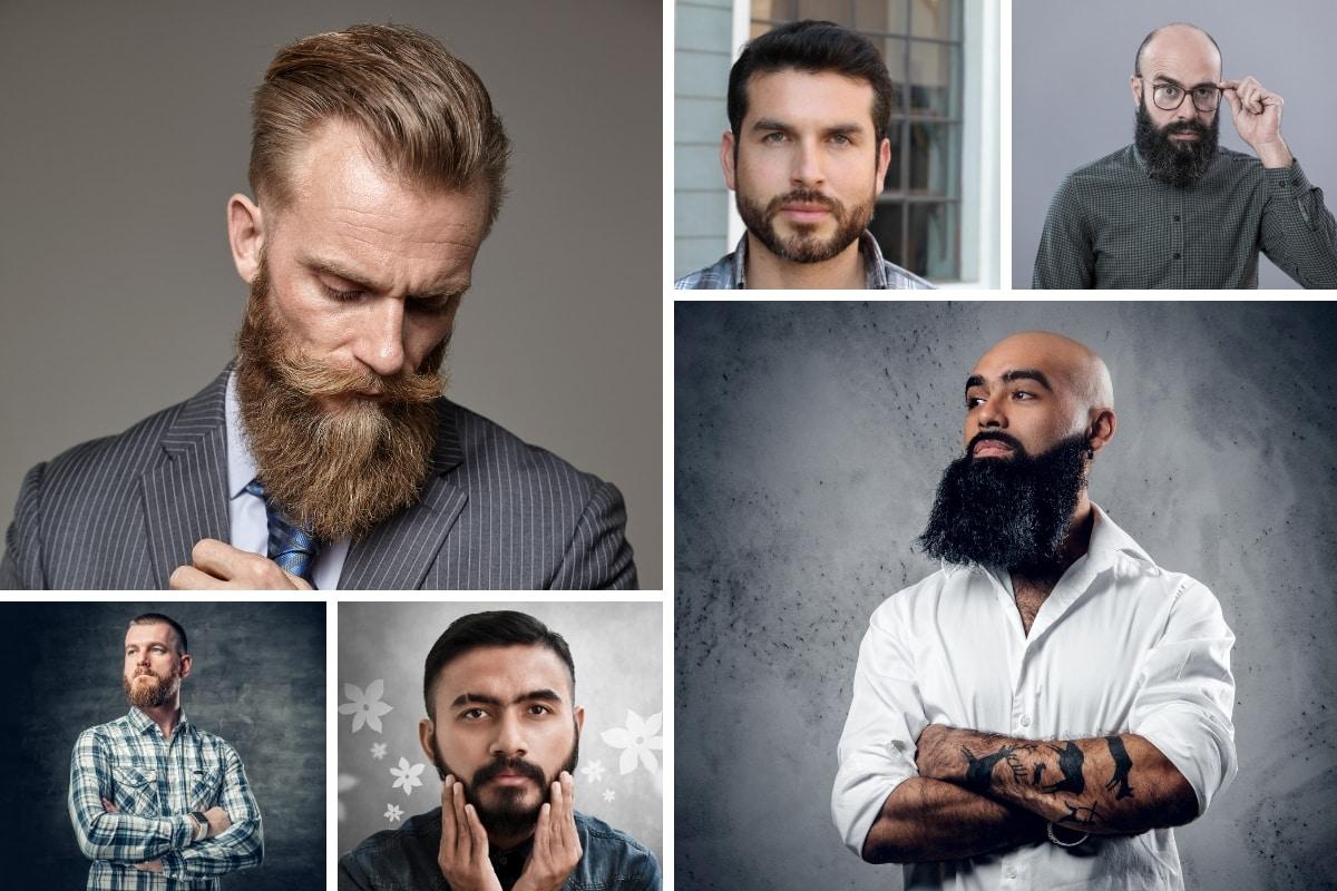 Welcher Bart passt zu welcher Gesichtsform