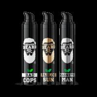 Bartöl 3in1 3x 50 ml von Heisenbeard Oil ohne Kappe